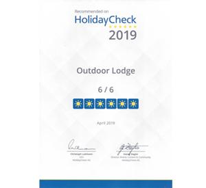 6 von 6 Punkten auf Holiday Check 2019