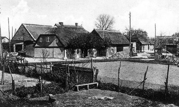 Dorfansicht Dranske 1933