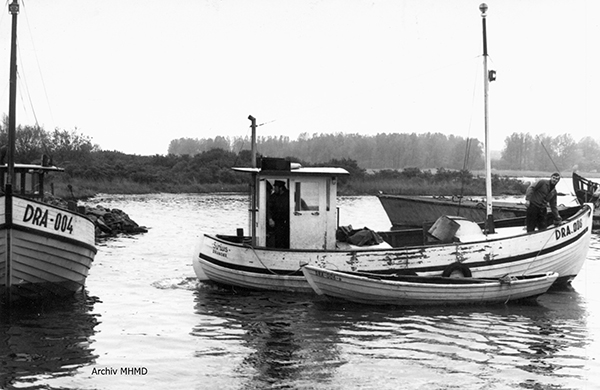 Boote FPG (Fischereiproduktionsgenossenschaft) Dranske 1978