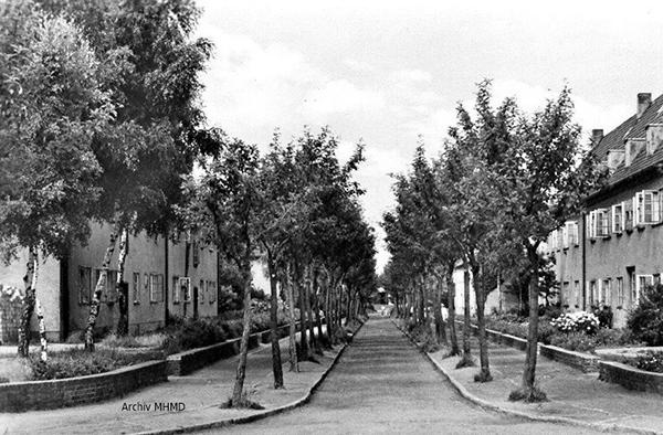 Schulstrasse Dranske 1958