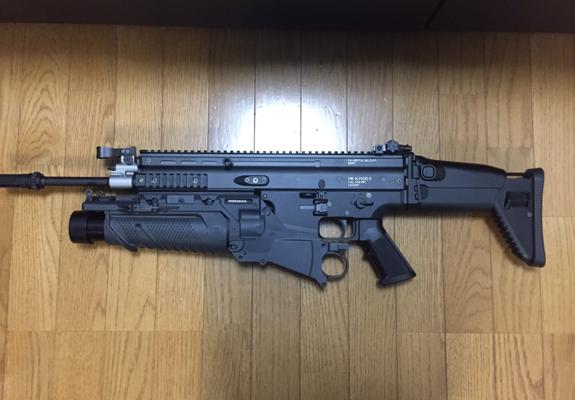 SCAR-L グレネードランチャー