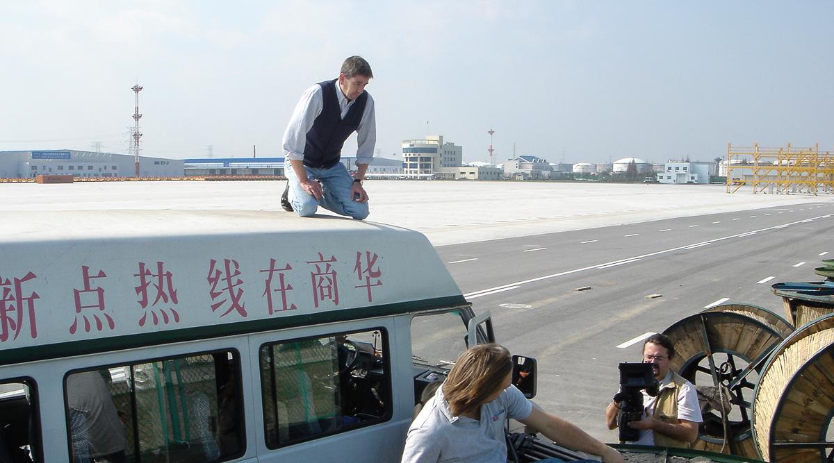 Imagefilm-Dreh in Schanghai: Siemens Energy