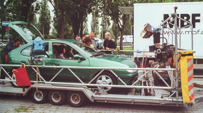 Werbefilmdreh in Frankfurt am Main: Siemens Mobile Networks