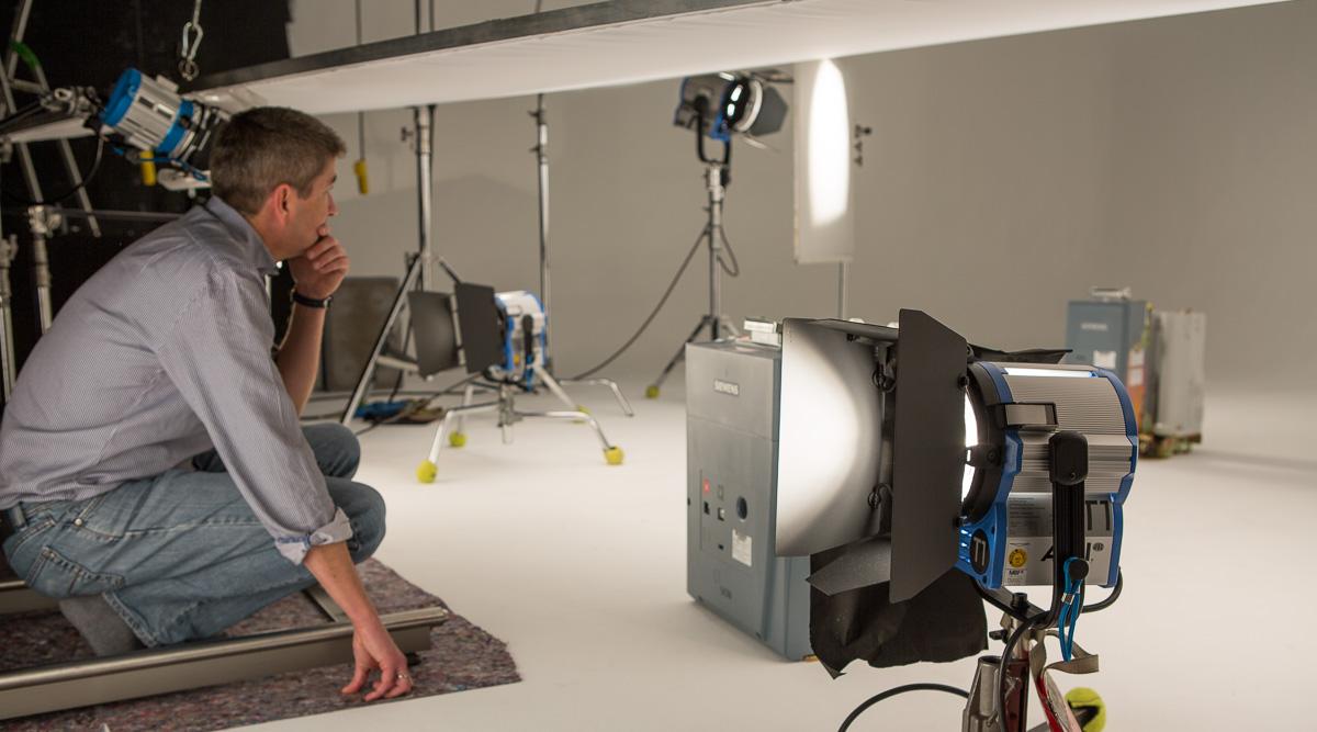 Studiodreh für ein Produktvideo: Siemens Energy