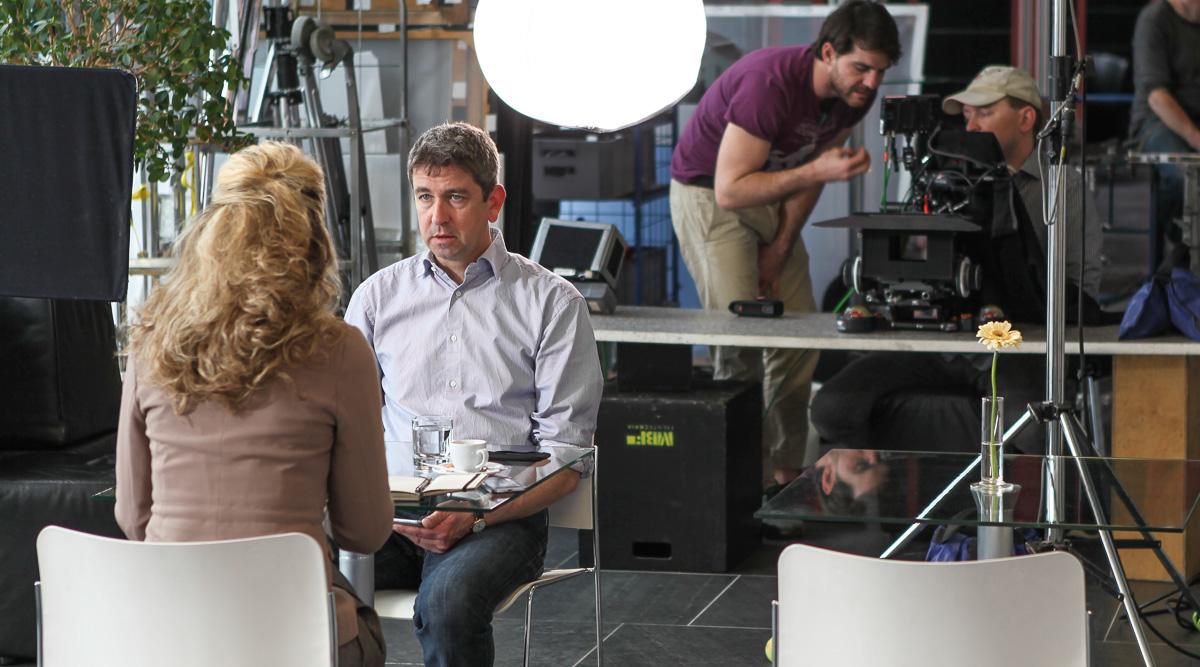 Regie Imagefilm in Frankfurt: Euromicron