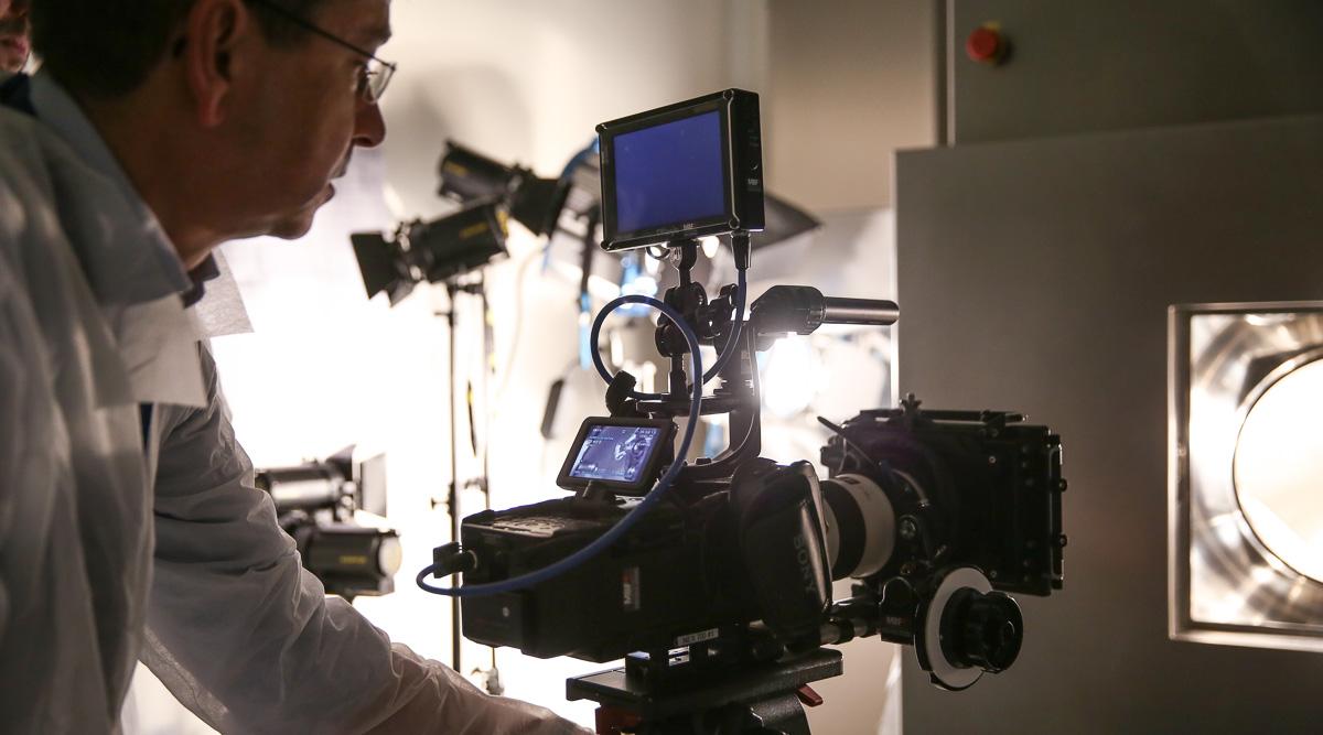 Zeitlupenkamera für Produktvideo
