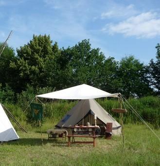 Dies war unser erstes Lager, zwar nicht ganz markttauglich, aber für den Anfang ok.