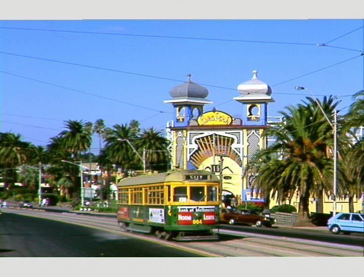 Luna Park and  tram