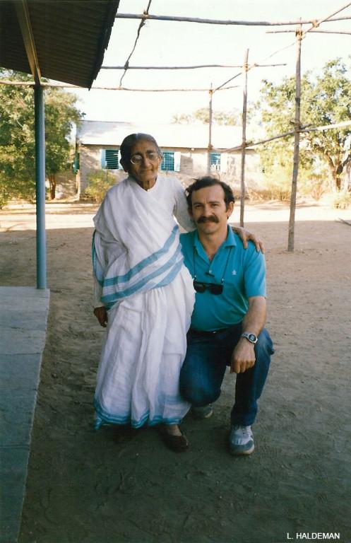 Mansari & Anthony Zois, U.Meherabad 1988
