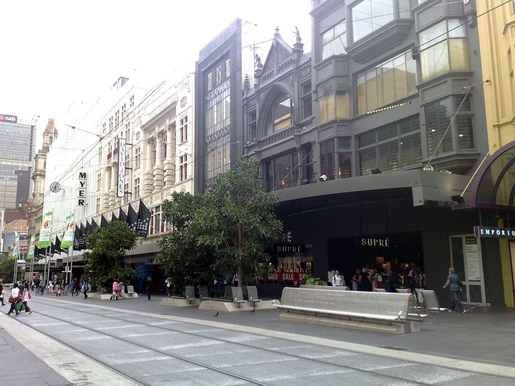 Bourke Street - looking westward
