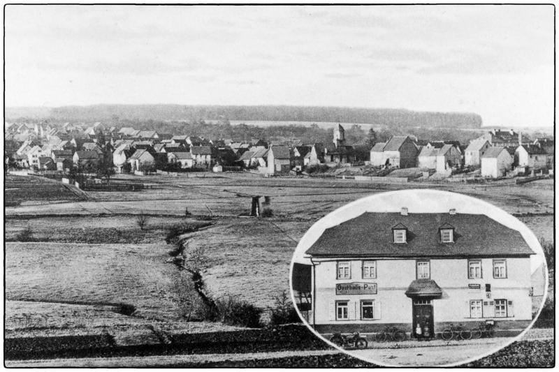 Ansichtskarte um 1920