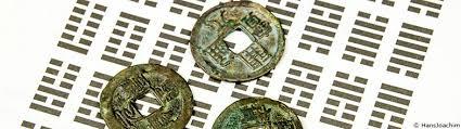 Pièces chinoises pour tirage (carrées en dedans, la Terre, rondes à l'extérieure, le Ciel)