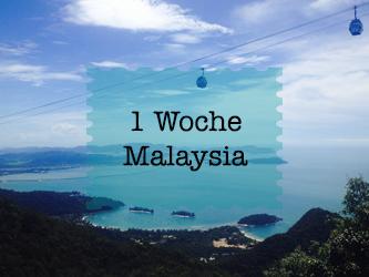 Malaysia Reise