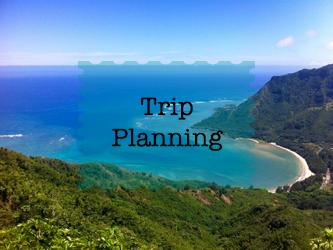 How plan a trip