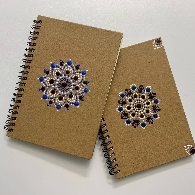 Dekoratives Notizbuch