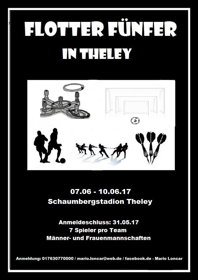 Flotter Fünfer in Theley
