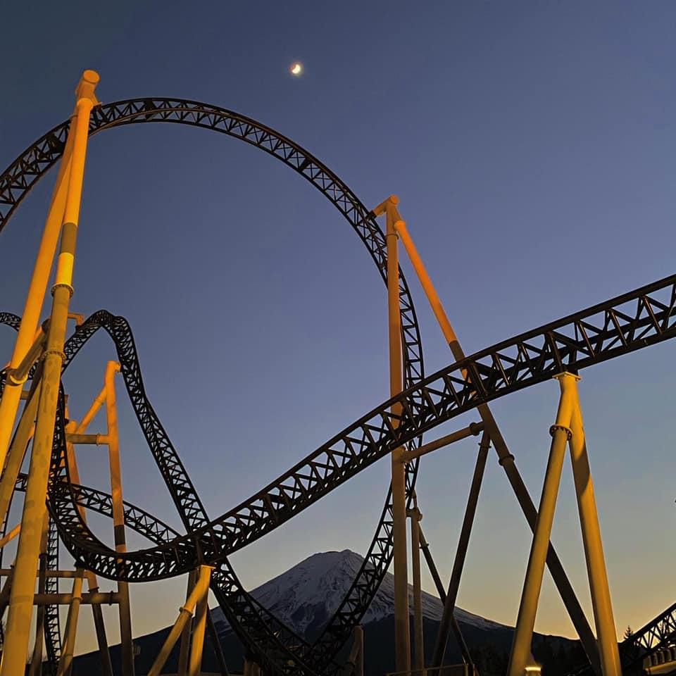 Mount Fuji and Fuji-Q amusement park