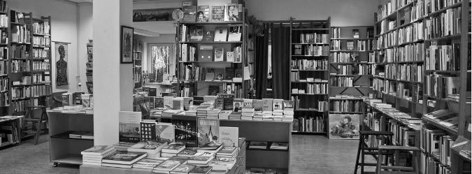 Der Buchladen Osterstraße in Hamburg, Lesung Oktober 2014