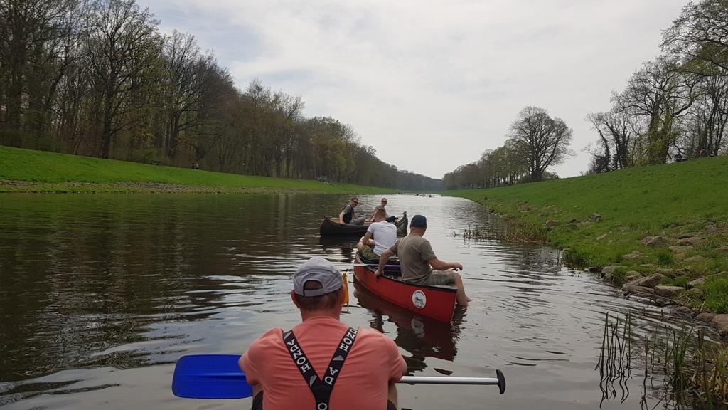 Nach dem Mittag sind wir dann noch eine Runde Elsterflutbett hoch und die Weiße Elster wieder bis zum Bootshaus zurück.