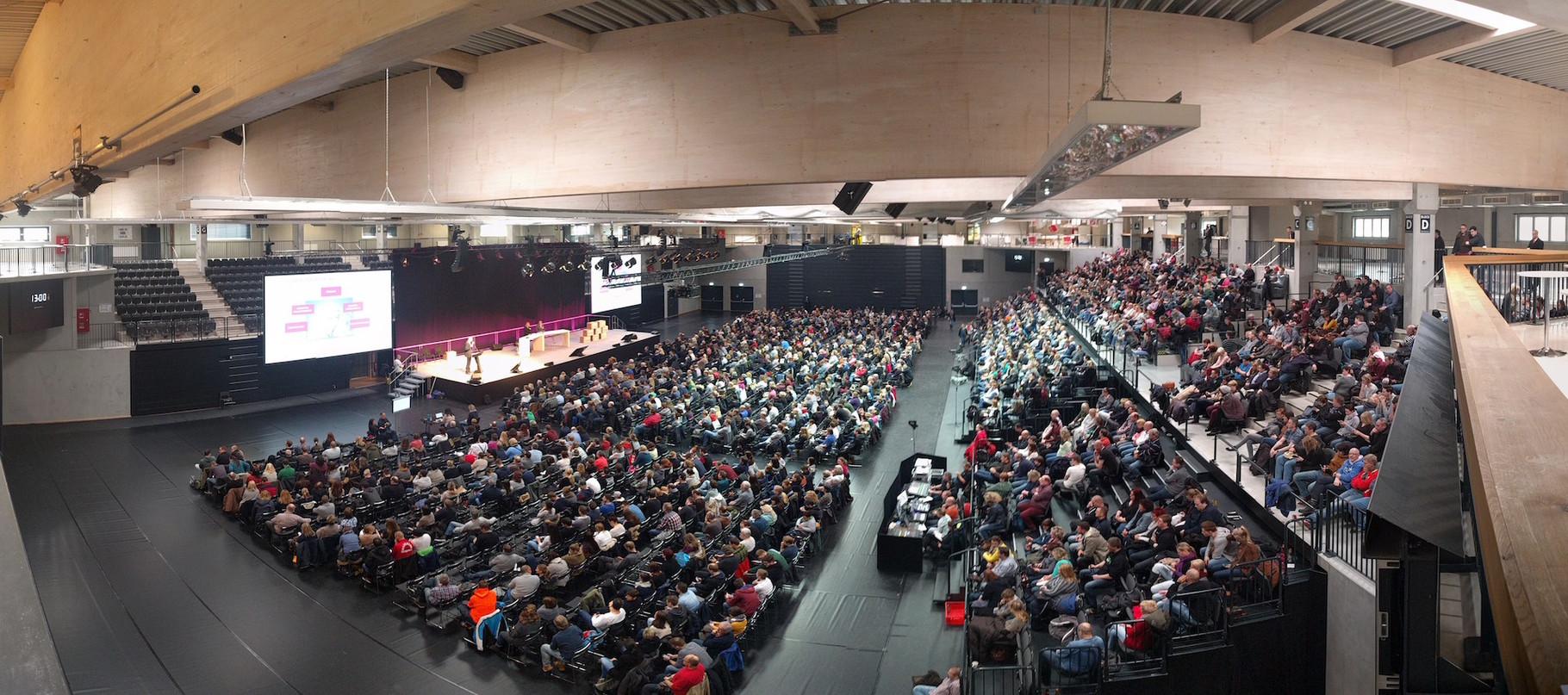 Inselparkhalle - Telekom Betriebsversammlung 01.03.16