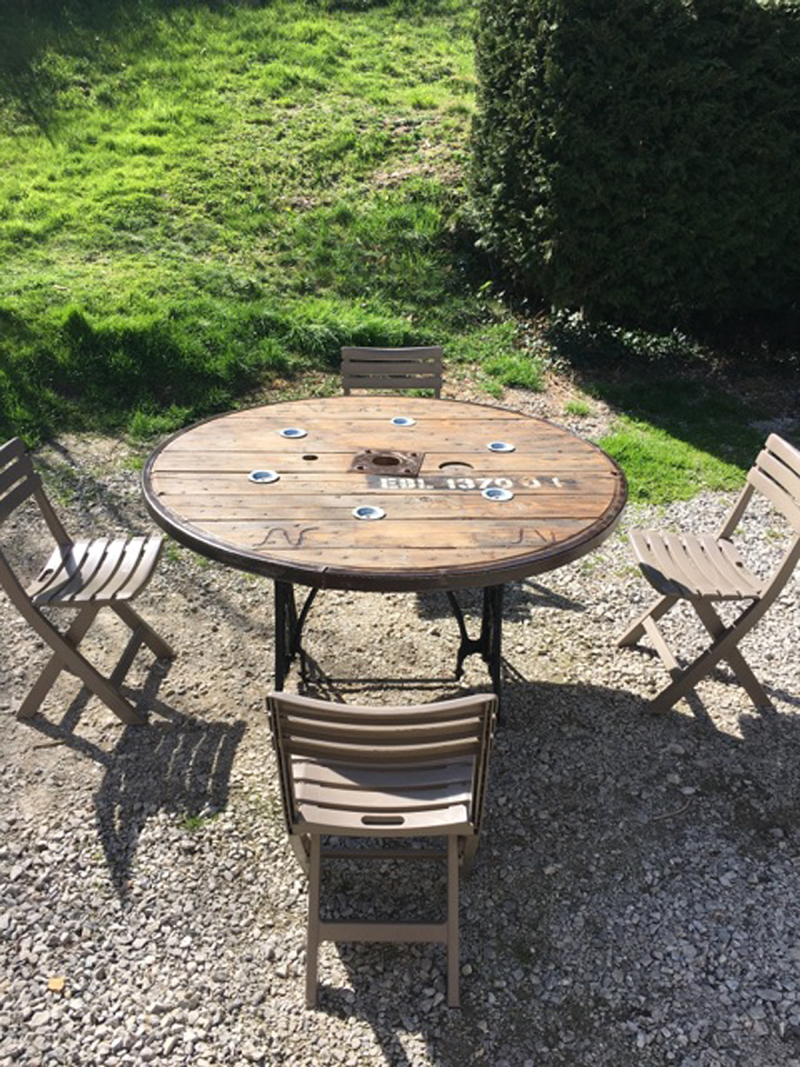 Ext rieur site de mafabrikabois Table en touret