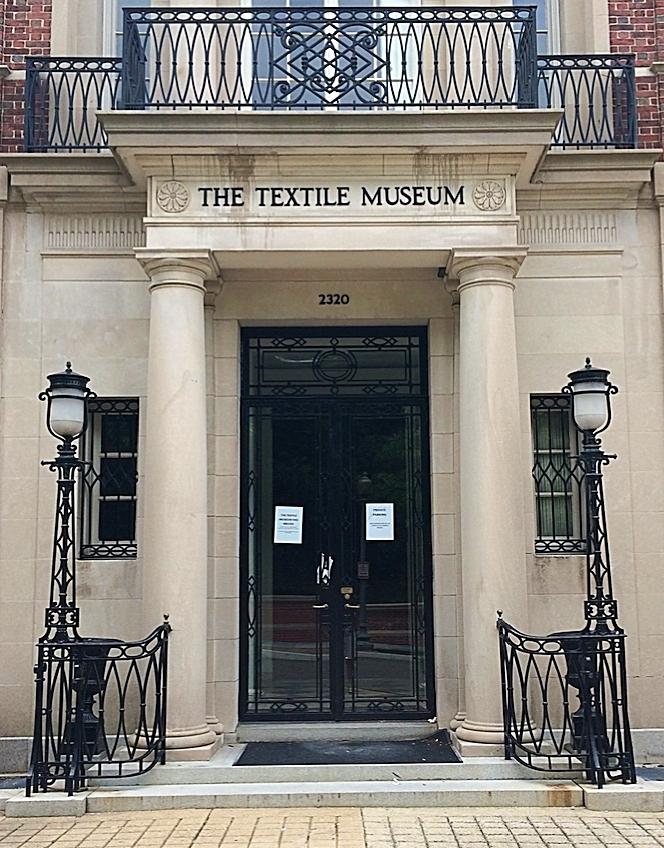 Textile Museum columns, Washington D.C.