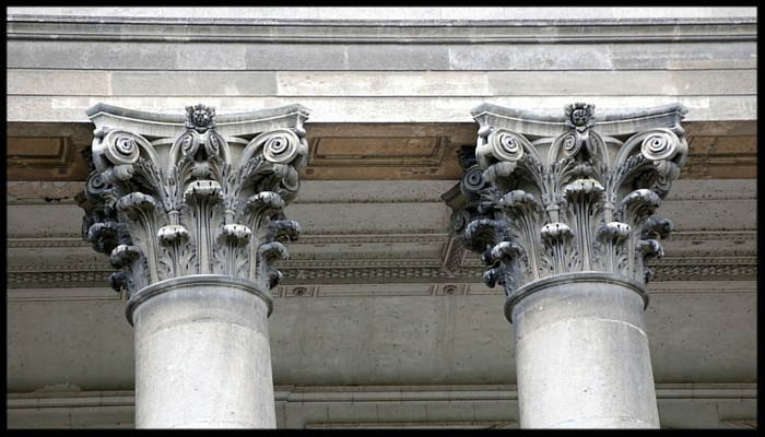Beautiful Corinthian columns