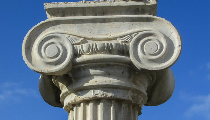 Ionic Column:  Using Architecture as Inspiration