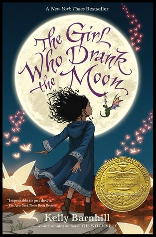Newbery Medal Winner 2017:  The Girl Who Drank the Moon by Kelly Barnhill