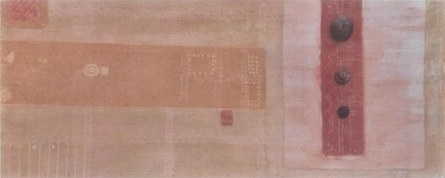 Título: TIANGUIS / técnica: MIXTA SOBRE MADERA / dimensiones: 35 cm. X 82 cm.
