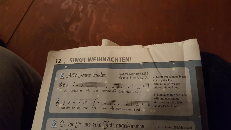 Singt Weihnachten! 2015