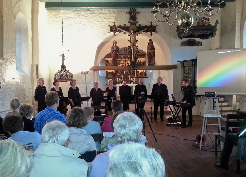 Konzert in der St. Peter-Kirche, Juni 2013