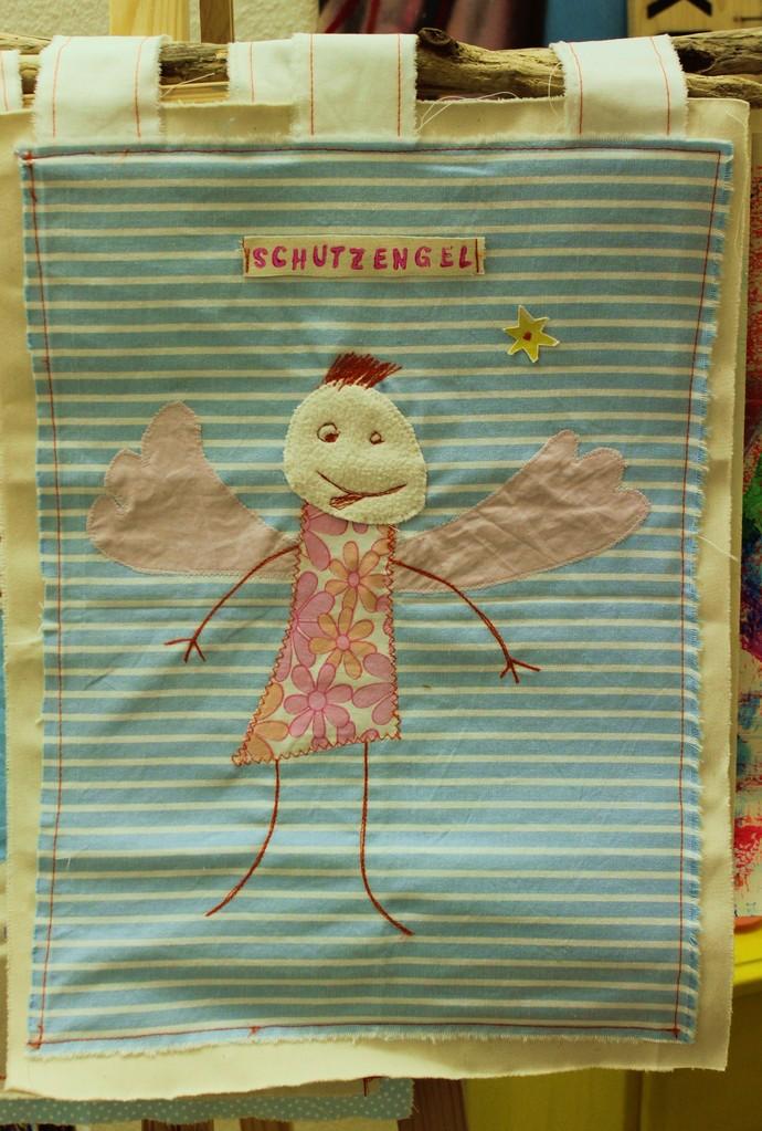 Schutzengel aus Kinderzeichnung