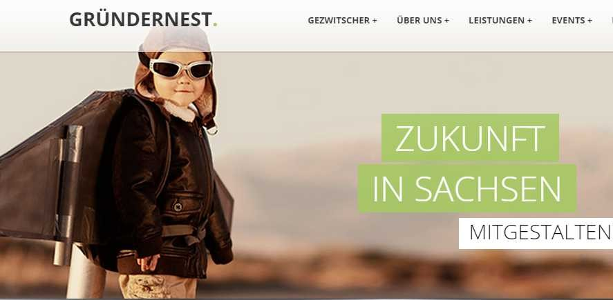Screenshot gruendernest.com