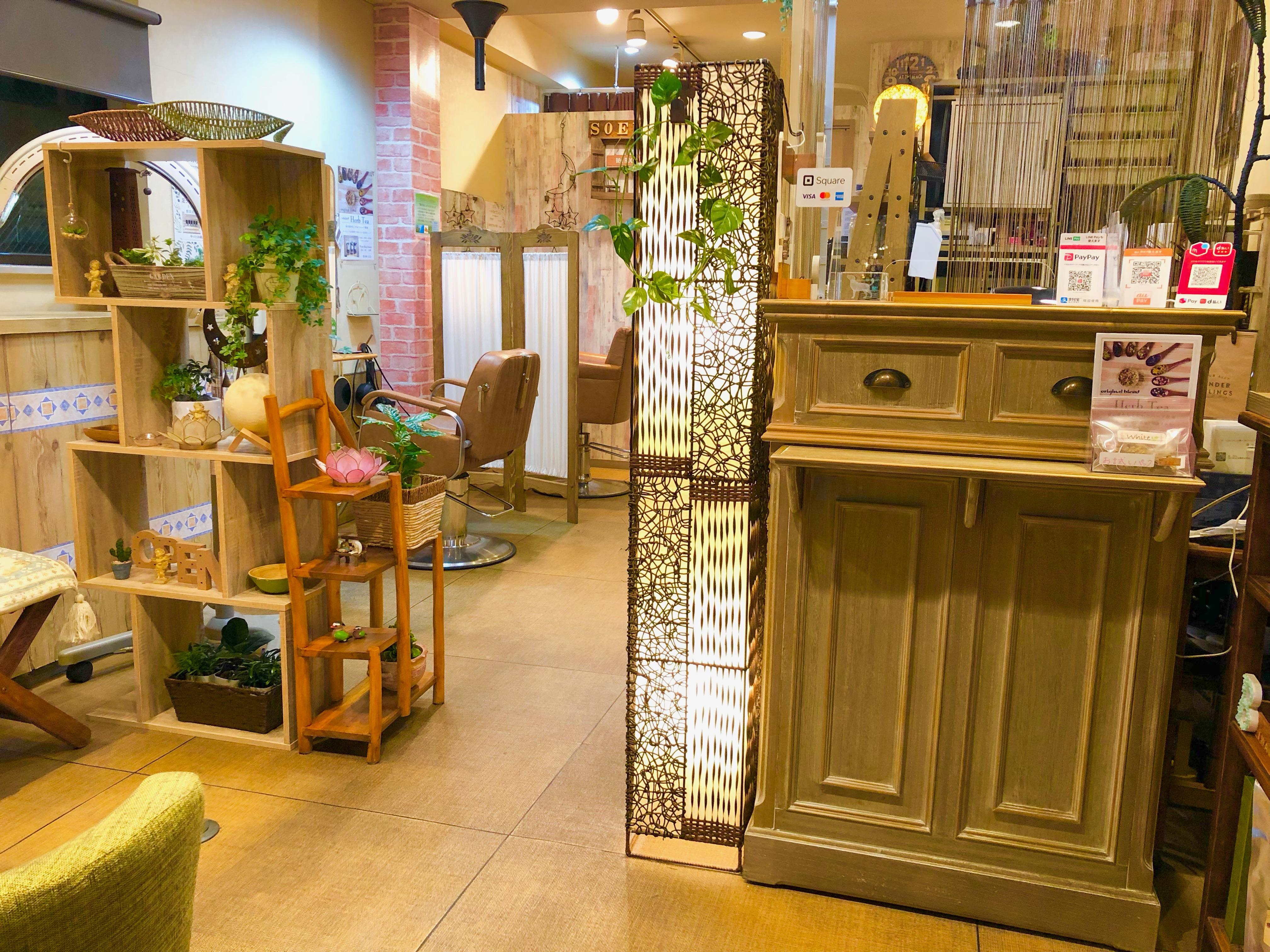 100%天然植物ヘナ久米川ホワイト美容室は東村山、小平、所沢と西武線からだけではなく国分寺、立川、など中央線からのお客様」もご来店いただいてます。