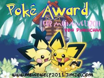 Poké Award für meinewelt2011