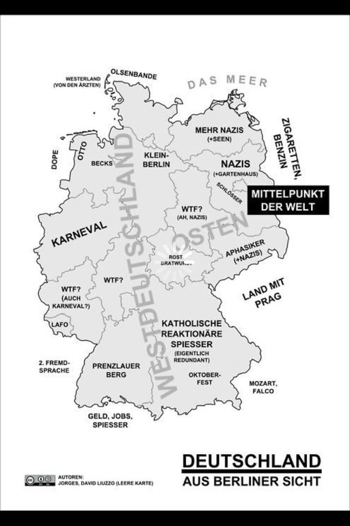 So sieht Berlin den Rest der Welt