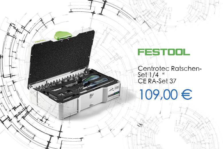 "Centrotec Ratschen-Set 1/4"" CE- RA-Set 37"