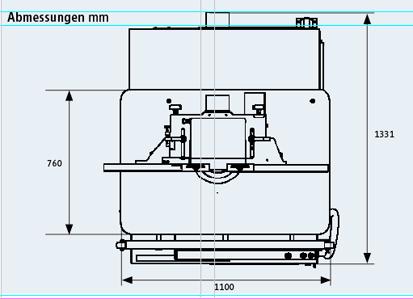 Fräsmaschine 245 easy