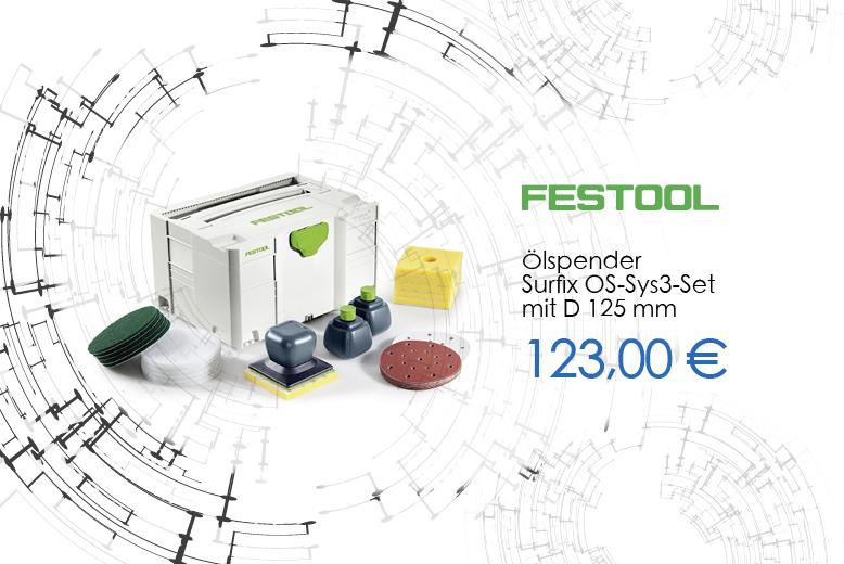 Festool Ölspender Surfix OS-Sys 3 Set