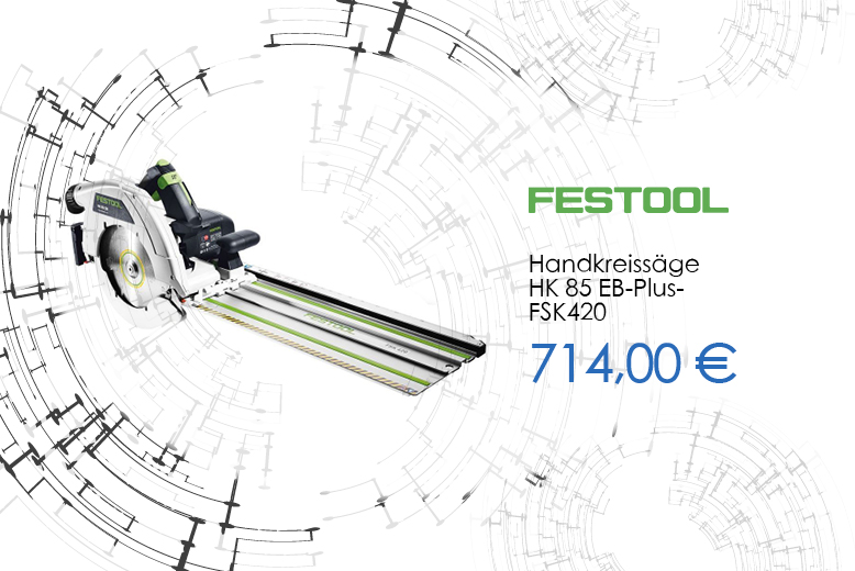 Festool Handkreissäge HK85