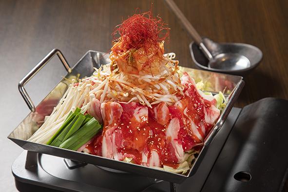 写真:韓国風牛すきちりとり鍋