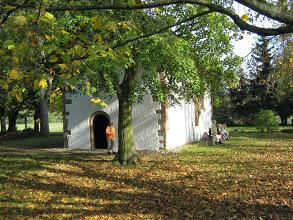 Wir rasteten im September 2014 am Schweinheimer Kirchel