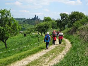 Mai 2014, Lahnwanderweg, Aussicht zur Schaumburg