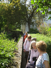 Mai 2014, Führung um die Römerstadt