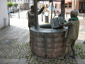 April 2014, Urquellbrunnen in Bad Vilbel