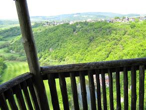 Mai 2014, Lahnwanderweg, Aussichtshütte am Steinsberg