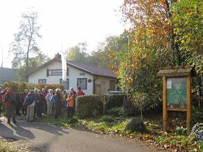 September 2014, Bauernwaldhütte des PWV Rheinzabern.