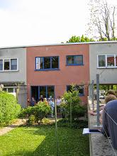 Mai 2014, Ernst-May-Haus, Gartenseite