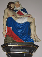 Juni 2014, Bonifatiusroute. In der Kirche Simon und Judas in Blankenau